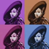 Marlene Dietrich 4Up Fine-Art Print