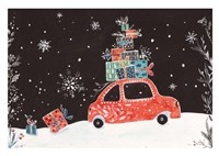 Christmas Car I Fine-Art Print