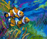 The First Date - Smiling Clownfish Fine-Art Print