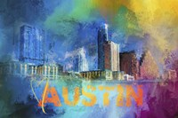 Sending Love To Austin Fine-Art Print