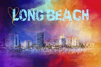 Sending Love To Long Beach Fine-Art Print