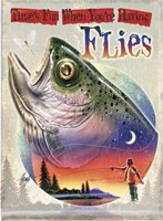 Bass Fly Fish Fine-Art Print
