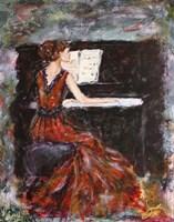 Playing Chopin Fine-Art Print