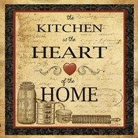 Kitchen Heart Vignette Fine-Art Print