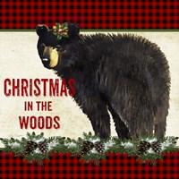 Christmas in the Woods - Bear Fine-Art Print