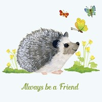 Forest Friends - Hedgehog Fine-Art Print