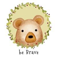 Be Brave Bear Fine-Art Print