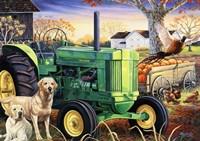 John Deer Pups Fine-Art Print