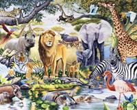 Safari Wildlife Fine-Art Print