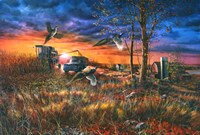 Harvest Ringnecks Fine-Art Print