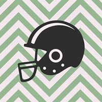 Eat Sleep Play Football - Green Part III Fine-Art Print