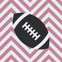 Eat Sleep Play Football - Pink Part I Fine-Art Print