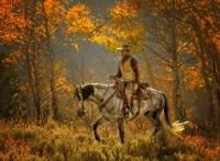 Mustang Fall Fine-Art Print