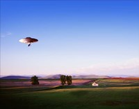 Montana Flying Saucer Fine-Art Print