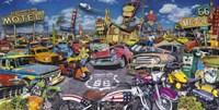 Bikes & Cars Fine-Art Print