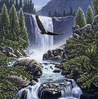 Sanctuary Falls Fine-Art Print