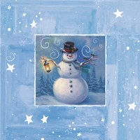 Ice Box Snowman Fine-Art Print