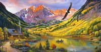 Rocky Mountain Retreat Fine-Art Print