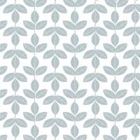 Allover Leaf Pattern Blue Fine-Art Print