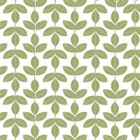 Allover Leaf Pattern Green Fine-Art Print