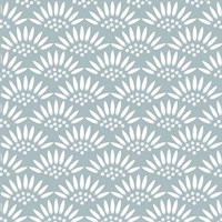 Geo Petal Blue Fine-Art Print