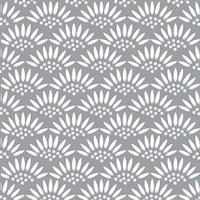 Geo Petal Grey Fine-Art Print