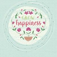 Grow Happiness Fine-Art Print