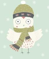 Holiday Owl Fine-Art Print