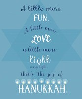 Joy Of Hanukkah Fine-Art Print