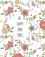 Be Happy And Smile Fine-Art Print
