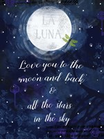 Love you to the Moon Fine-Art Print