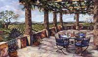 Vineyard Veranda Fine-Art Print