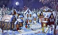 Winter Weekend Evening Fine-Art Print