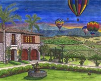 Vineyard Balloons Fine-Art Print