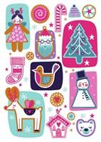 Christmas Collage Fine-Art Print