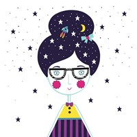 Space Girl Fine-Art Print