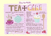 Tea And Cake Fine-Art Print
