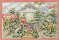 Christmas Greenhouse Fine-Art Print
