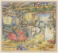 Christmas Sleigh Fine-Art Print