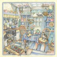 Cottage Kitchen Fine-Art Print