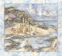 Sandcastle psd Fine-Art Print