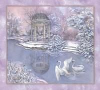 Snow Pavilion Fine-Art Print