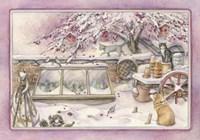 Snowy Crabapple Fine-Art Print