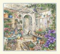 Spring In Garden Room Fine-Art Print