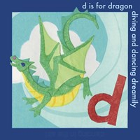 D is For Dragon Fine-Art Print
