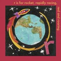 R is For Rocket Fine-Art Print
