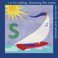 S is For Sailing Fine-Art Print