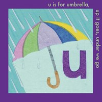 U is For Umbrella Fine-Art Print