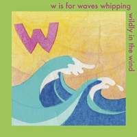 W is For Wave Fine-Art Print