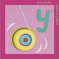 Y is For Yoyo Fine-Art Print